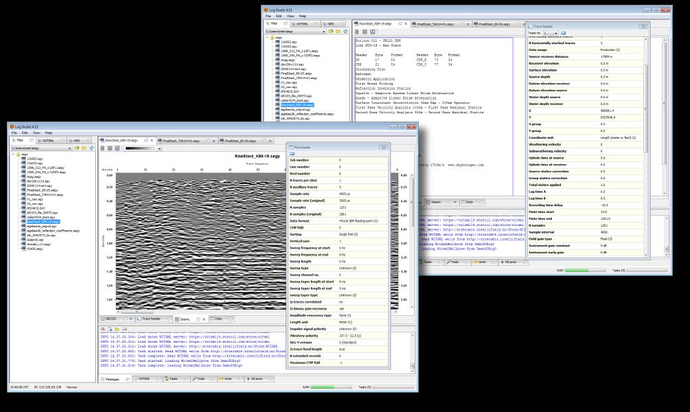 Seismic I/O - Seismic access library